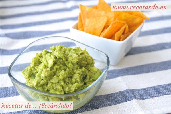 Guacamole casero f cil y sabroso recetas de esc ndalo for Menu casero facil