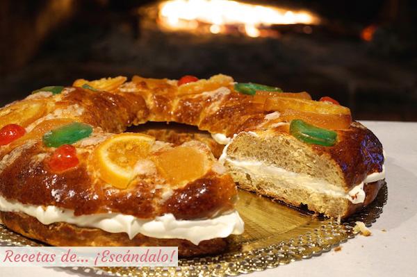 C mo hacer rosc n de reyes casero receta tradicional - Roscones de reyes ...