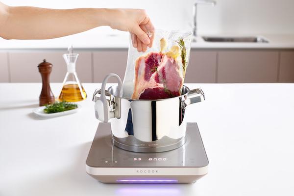 Cocinar a baja temperatura en casa con rocook el nuevo for Cocina baja temperatura thermomix